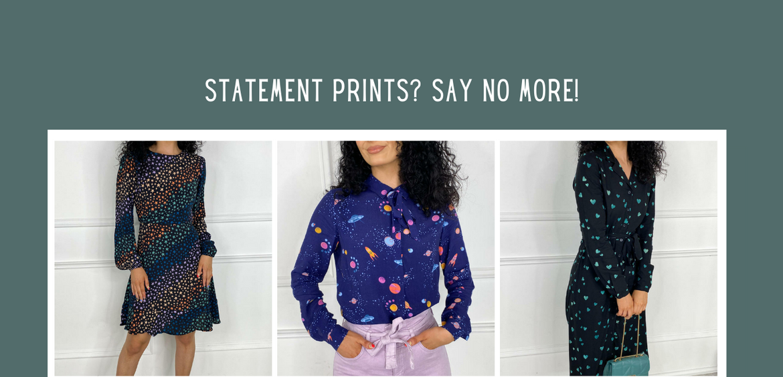 Statement Prints? Say No More!