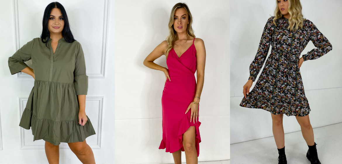 The Perfect Dresses For Covering Your Tummy!
