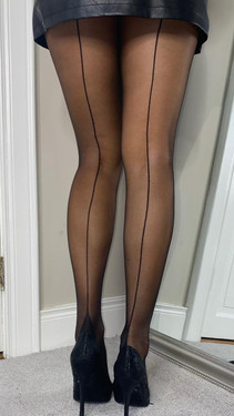 Get That Trend Fiona French Heel Seamed Tights
