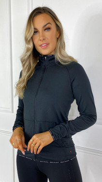 Get That Trend ONLYPLAY Black High Neck Training Top