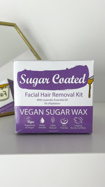 Get That Trend Sugar Coated Wax Facial Hair Removal Kit