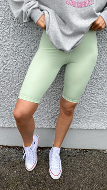 Get That Trend Only Pastel Green Cycle Shorts