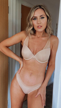 Get That Trend Pretty Polly Natural High Apex Moulded Bra in Creme Brulee