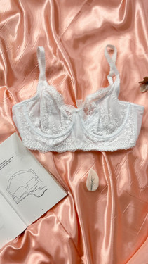 Get That Trend Pour Moi White Underwired Bra