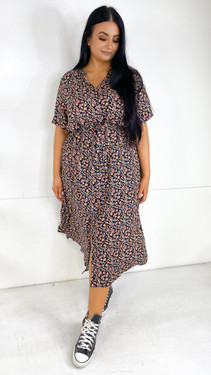 Get That Trend Only Carmakoma Printed Midi Shirt Dress