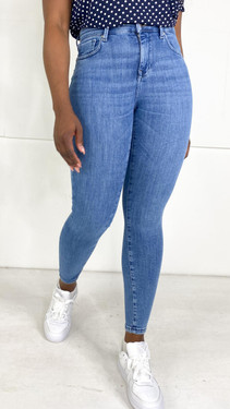 Get That Trend Only Power Push-Up Light Blue Denim Jeans