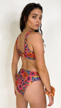 Wolf and Whistle Floral Bikini Bottoms