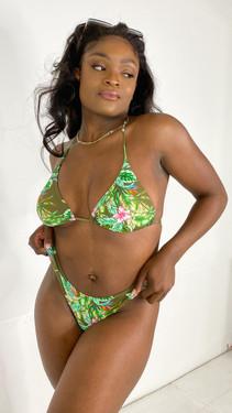 Pieces Bikini Bottom in Tropical Print