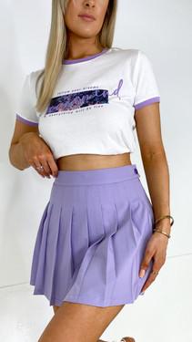 Ivy Lane Lilac Tennis Skort