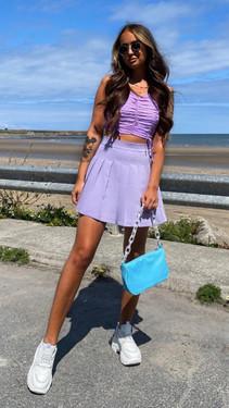 Get That Trend Ivy Lane Lilac Tennis Skort
