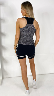 Get That Trend Only Play Black Printed Training Top