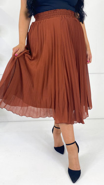 Get That Trend Only Carmakoma Pleated Midi Skirt