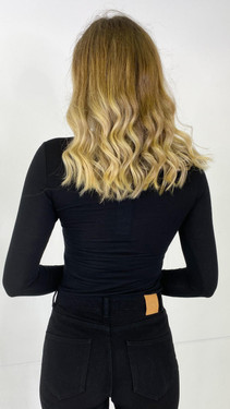 Only Life Black Turtle Neck Top