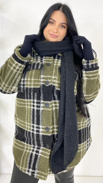 Get That Trend Pieces Black Long Scarf