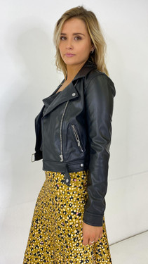 Get That Trend Only Faux Leather Biker Jacket
