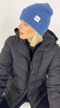 Get That Trend Only Life Navy Knitted Beanie