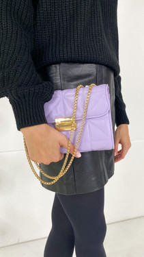 Get That Trend Only Lilac Faux Leather Crossbody Bag