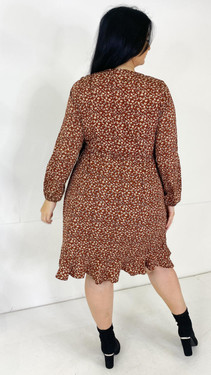 Get That Trend Only Carmakoma Floral Wrap Dress