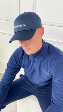 Get That Trend Columbia ROC II Unisex Ball Cap In Navy