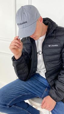 Get That Trend Columbia ROC II Unisex Ball Cap In Light Grey