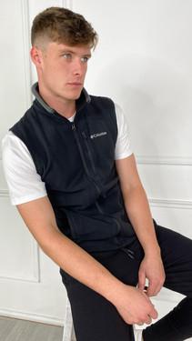 Get That Trend Columbia Mens Fast Trek Fleece Vest In Black