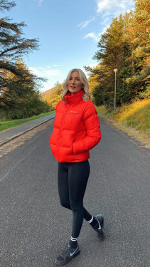 Get That Trend Columbia Womenss Puffect Jacket In Bright Orange