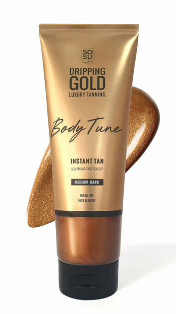SoSu Dripping Gold Luxury Instant Tan - Medium-Dark