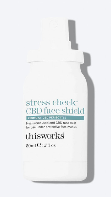 Get That Trend This Works Stress Check CBD Face Shield