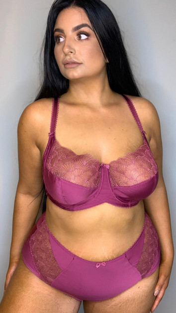 Get That Trend Charnos Deep Brief in Raspberry