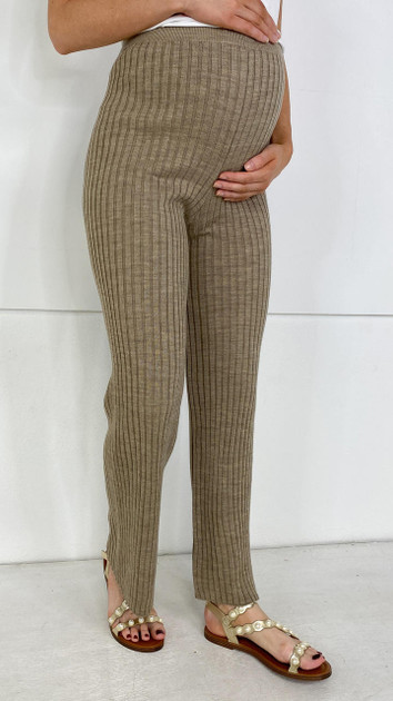 Get That Trend Mamalicious Knitted Maternity Trousers