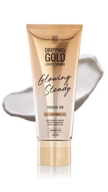 Get That Trend Dripping Gold Glowing Steady Gradual Tan