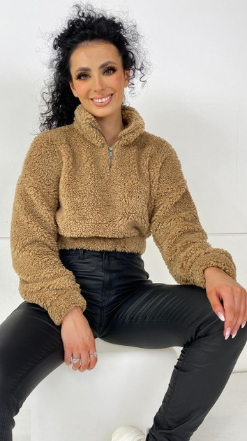 Get That Trend Noisy May Tigers Eye Teddy Pullover