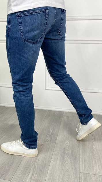 Get That Trend Only and Sons Blue Wash Slim Fit Denim Jeans