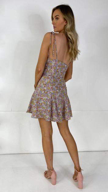 Ivy Lane Floral Cami Mini Dress