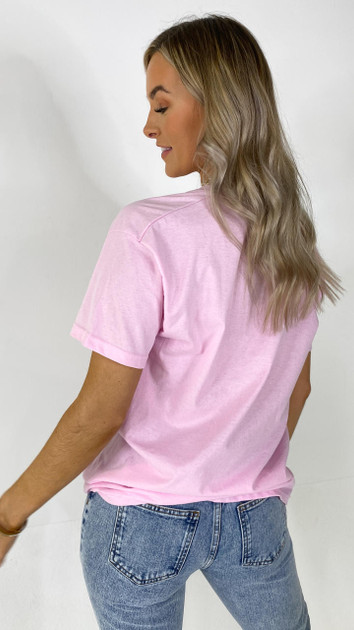 Get That Trend Daisy Street Embrace Pink Relaxed Tee