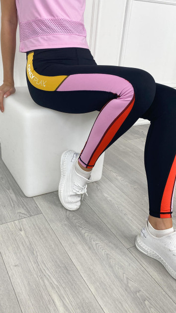 Get That Trend ONLYPLAY Black High Waisted Leggings