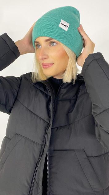 Get That Trend Only Life Teal Knitted Beanie