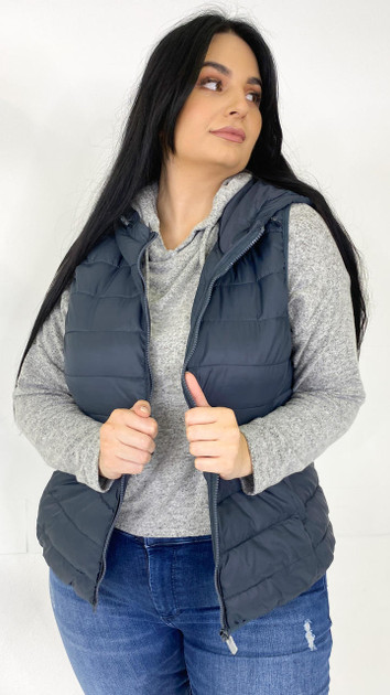 Get That Trend Only Carmakoma Puffer Waistcoat