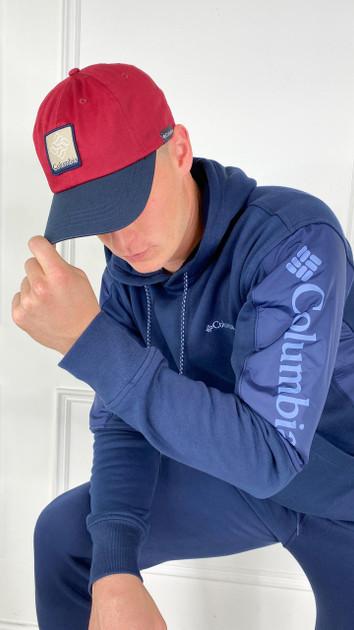 Get That Trend Columbia ROC II Unisex Ball Cap In Red