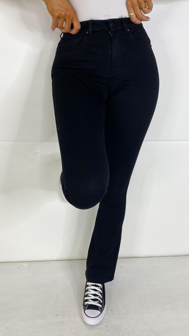 Get That Trend Only Black Flared Leg Jeans