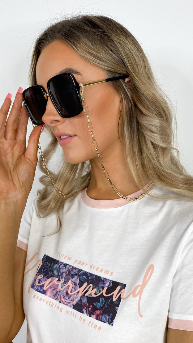 Only Chunky Sunglasses Chain