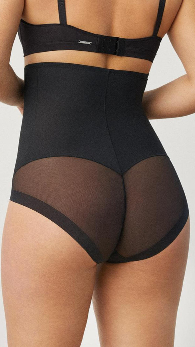 Get That Trend Ysabel Mora Black High Waisted Shaping Panty