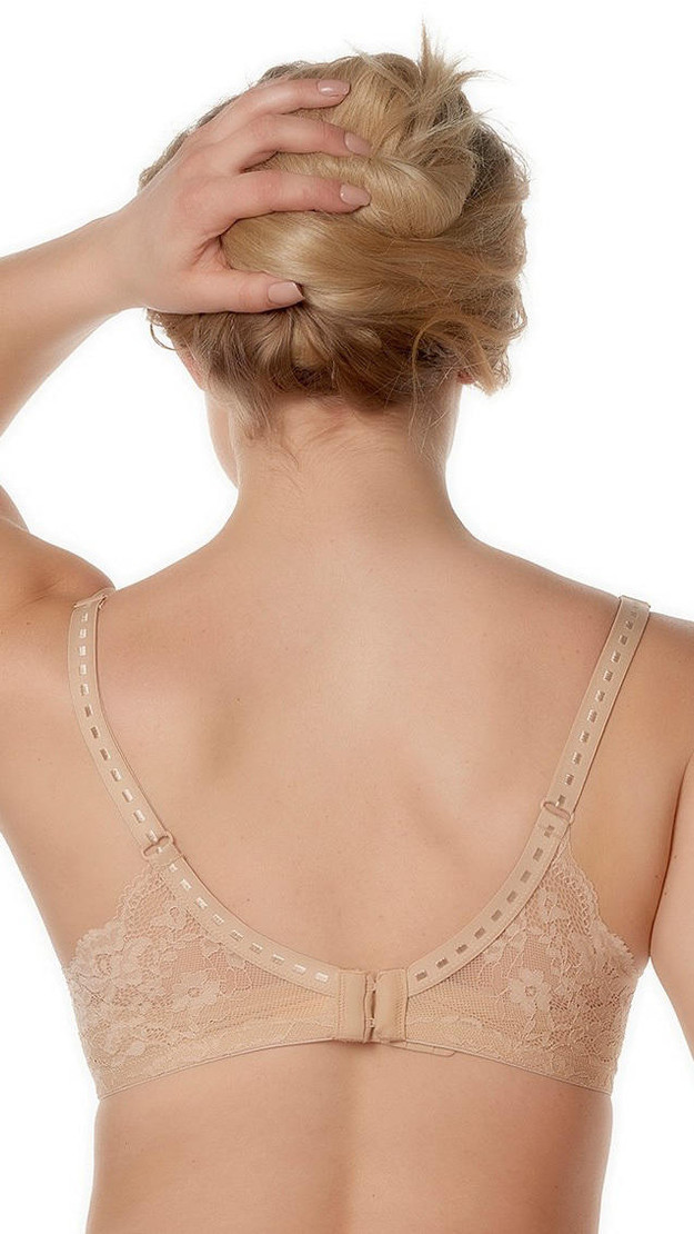 Get That Trend After Eden Nude Lace Padded Bra