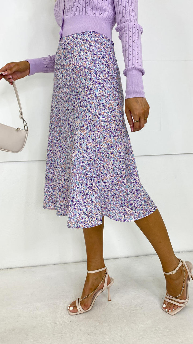 Get That Trend Ivy Lane Printed Slip Skirt