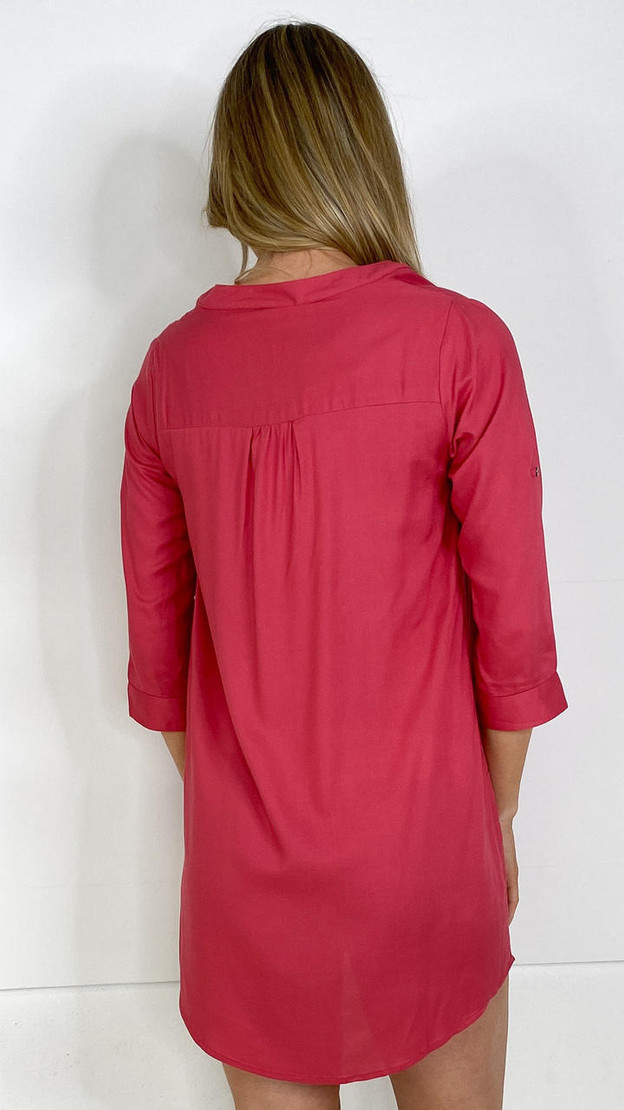 Get That Trend Mamalicious Tunic in Pink