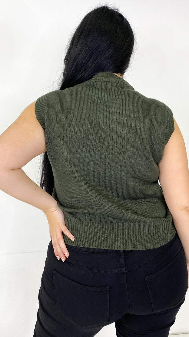 Get That Trend Only Carmakoma Rosin Knitted Vest