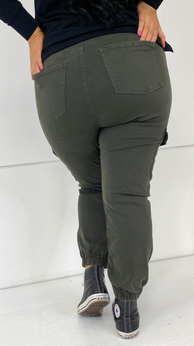 Get That Trend Only Carmakoma Cargo Ankle Trousers