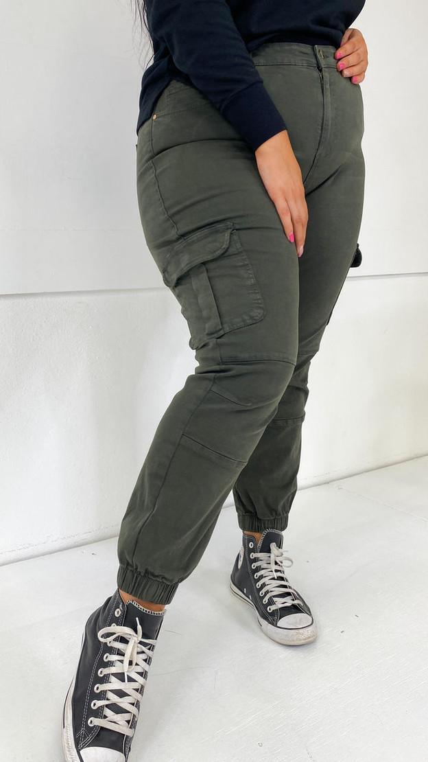Only Carmakoma Cargo Ankle Trousers