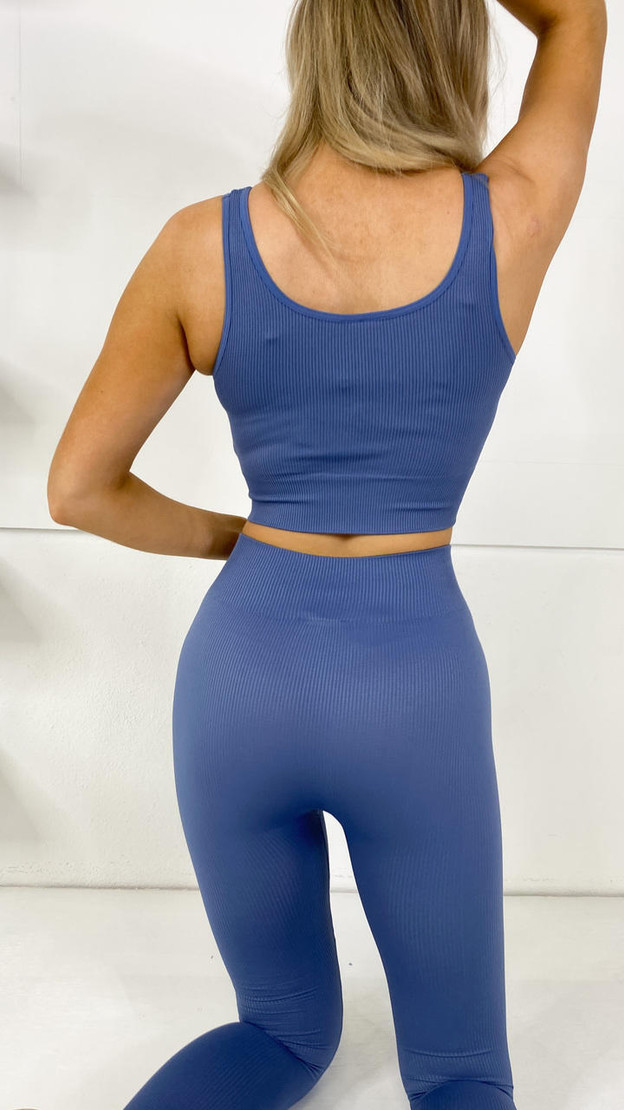 Get That Trend Only Play Bijou Blue Short Top