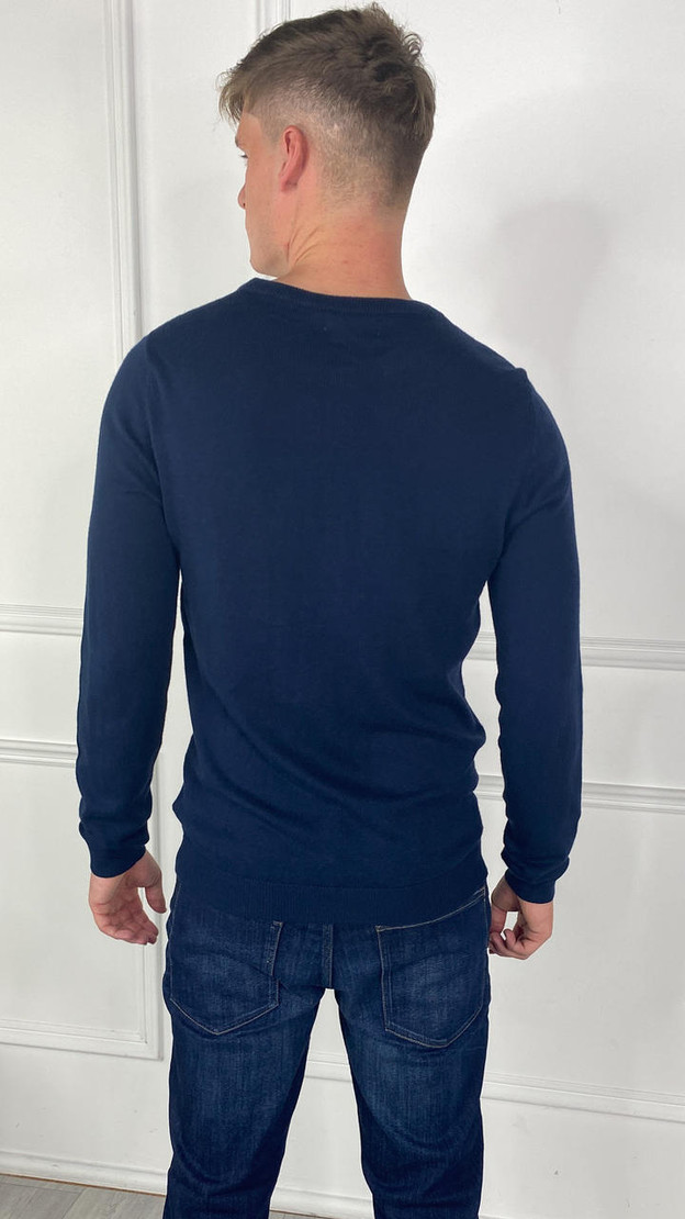Get That Trend Only and Sons Dress Blues Crewneck Knit Jumper